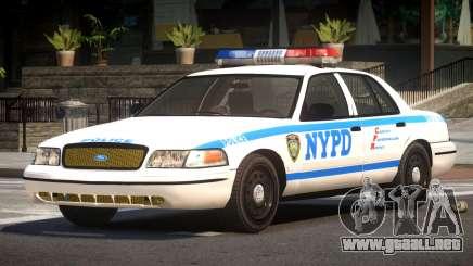 Ford Crown Victoria LS Police para GTA 4