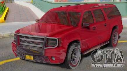 2007 Chevrolet Suburban Civillian Granger style para GTA San Andreas