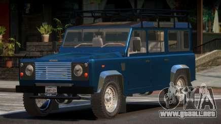 Land Rover Defender V1.1 para GTA 4