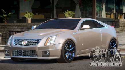 Cadillac CTS-V ES V1.1 para GTA 4