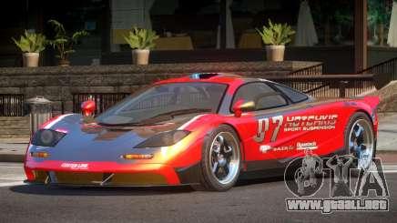 McLaren F1 BS PJ3 para GTA 4