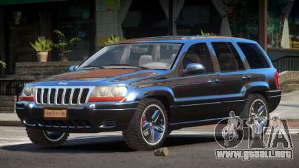 Jeep Grand Cheroke SP para GTA 4
