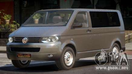 Volkswagen Transporter T5 MS PJ1 para GTA 4