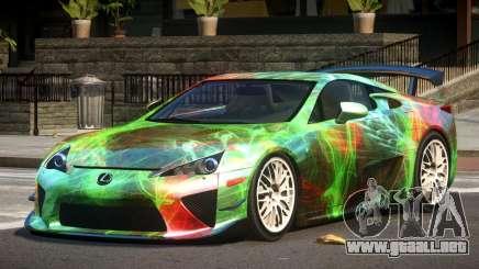 Lexus LFA RT PJ3 para GTA 4