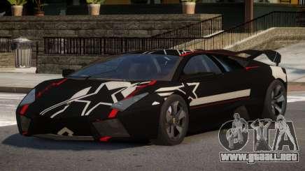 Lambor Reventon GRS PJ4 para GTA 4