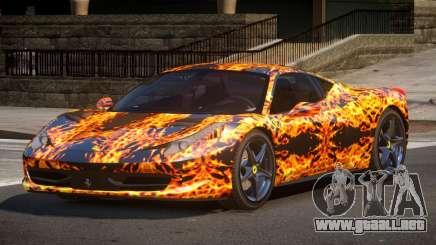 Ferrari 458 PSI PJ1 para GTA 4