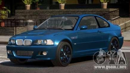 BMW M3 E46 NR para GTA 4