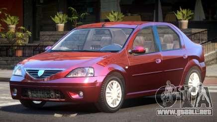 Dacia Logan V1.6 para GTA 4