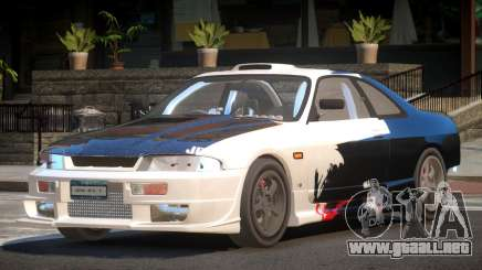 Nissan Skyline R33 RTI PJ1 para GTA 4