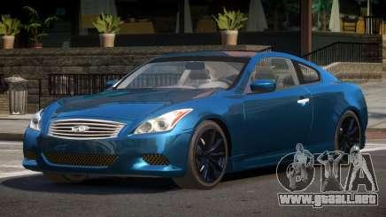 2008 Infiniti G37 para GTA 4