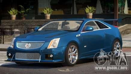 Cadillac CTS-V ES V1.2 para GTA 4