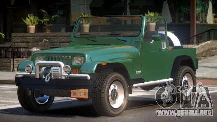 Jeep Wrangler TR para GTA 4