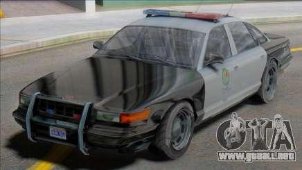 GTA V-ar Vapid Stanier Cop para GTA San Andreas