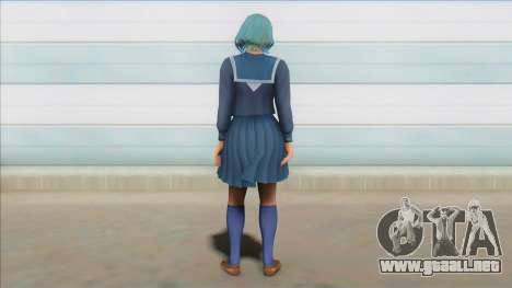 Tamaki Sailor Uniform para GTA San Andreas