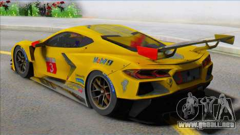 Chevrolet Corvette C8R para GTA San Andreas