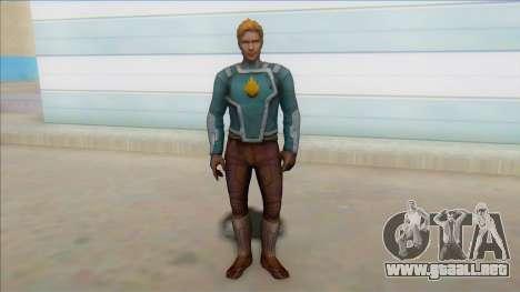 Starlord Mff Unmasked para GTA San Andreas