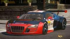 2010 Audi R8 LMS PJ7 para GTA 4