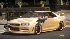 Nissan Skyline R34 GS PJ8 para GTA 4