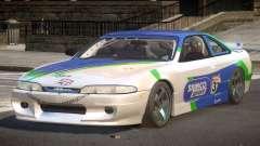 Nissan Silvia S14 Drift PJ10 para GTA 4