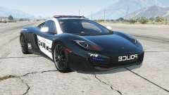 McLaren MP4-12C Hot Pursuit Police para GTA 5
