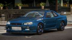 Nissan Skyline R34 ZT para GTA 4