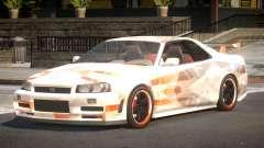 Nissan Skyline R34 GS PJ6 para GTA 4