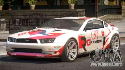 Canyon Car from Trackmania 2 PJ7 para GTA 4