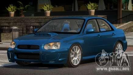 1999 Subaru Impreza LT para GTA 4