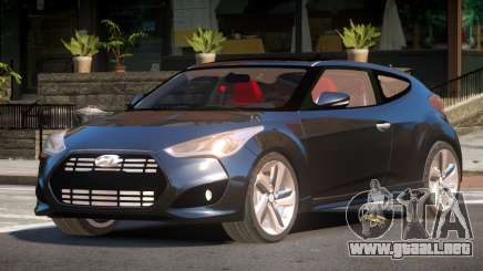 Hyundai Veloster HK para GTA 4