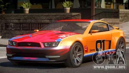Canyon Car from Trackmania 2 PJ3 para GTA 4