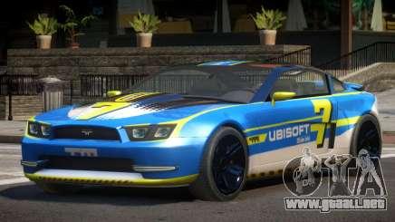 Canyon Car from Trackmania 2 PJ14 para GTA 4
