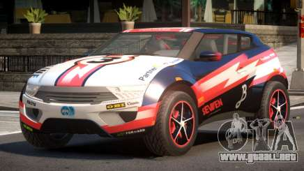Lagoon Car from Trackmania 2 PJ2 para GTA 4