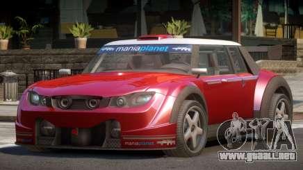 Valley Car from Trackmania 2 PJ9 para GTA 4