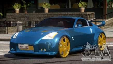 Nissan 350Z D-Tuned para GTA 4