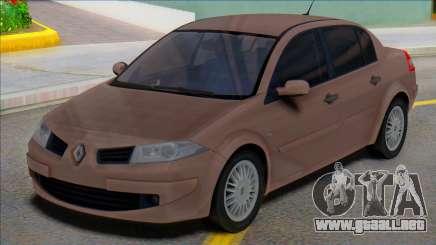 Renault Megane II 2007 para GTA San Andreas