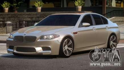 BMW M5 F10 ES para GTA 4