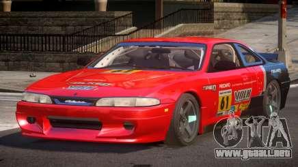 Nissan Silvia S14 Drift PJ4 para GTA 4