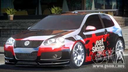 Volkswagen Golf GTI Drift PJ4 para GTA 4