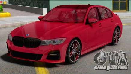 BMW 3 Series G20 M Sport para GTA San Andreas