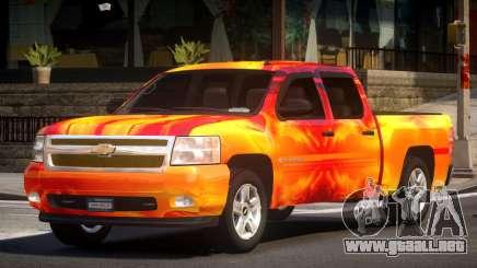 Chevrolet Silverado GST 1500 L3 para GTA 4