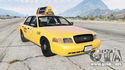 Ford Crown Victoria Taxi para GTA 5