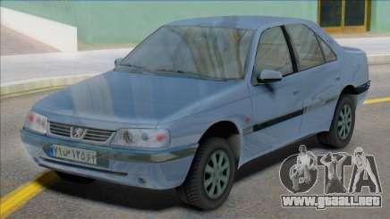 Peugeot 405 SLX Iran Plates para GTA San Andreas