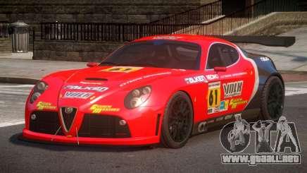 2007 Alfa Romeo 8C L4 para GTA 4
