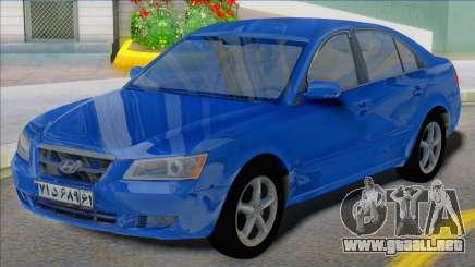 Hyundai Sonata 2008 Iran Plates para GTA San Andreas
