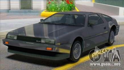 GTA V Imponte Deluxo (Civilian) para GTA San Andreas