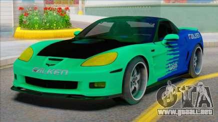 Chevrolet Corvette C6 FALKEN para GTA San Andreas