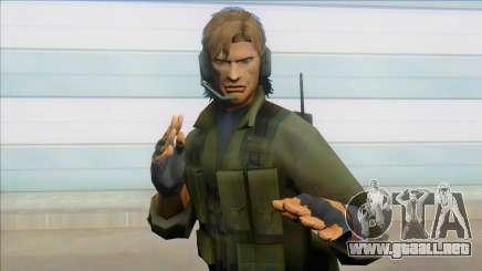 Iroquois Plinskin - Metal Gear Solid 2 para GTA San Andreas