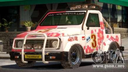 Snow Car from Trackmania PJ2 para GTA 4