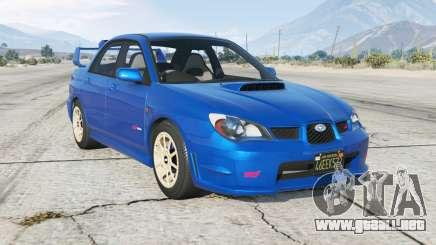 Subaru Impreza WRX STi (GDB) Ձ006 para GTA 5