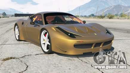 Ferrari 458 GT2 para GTA 5